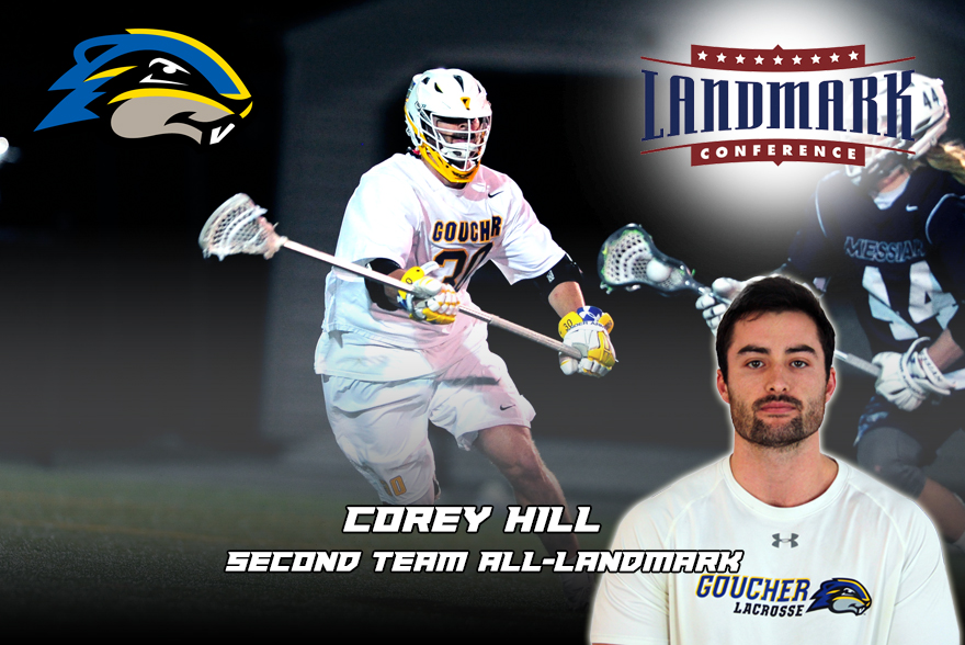 Landmark Names Hill to All-Conference Second Team
