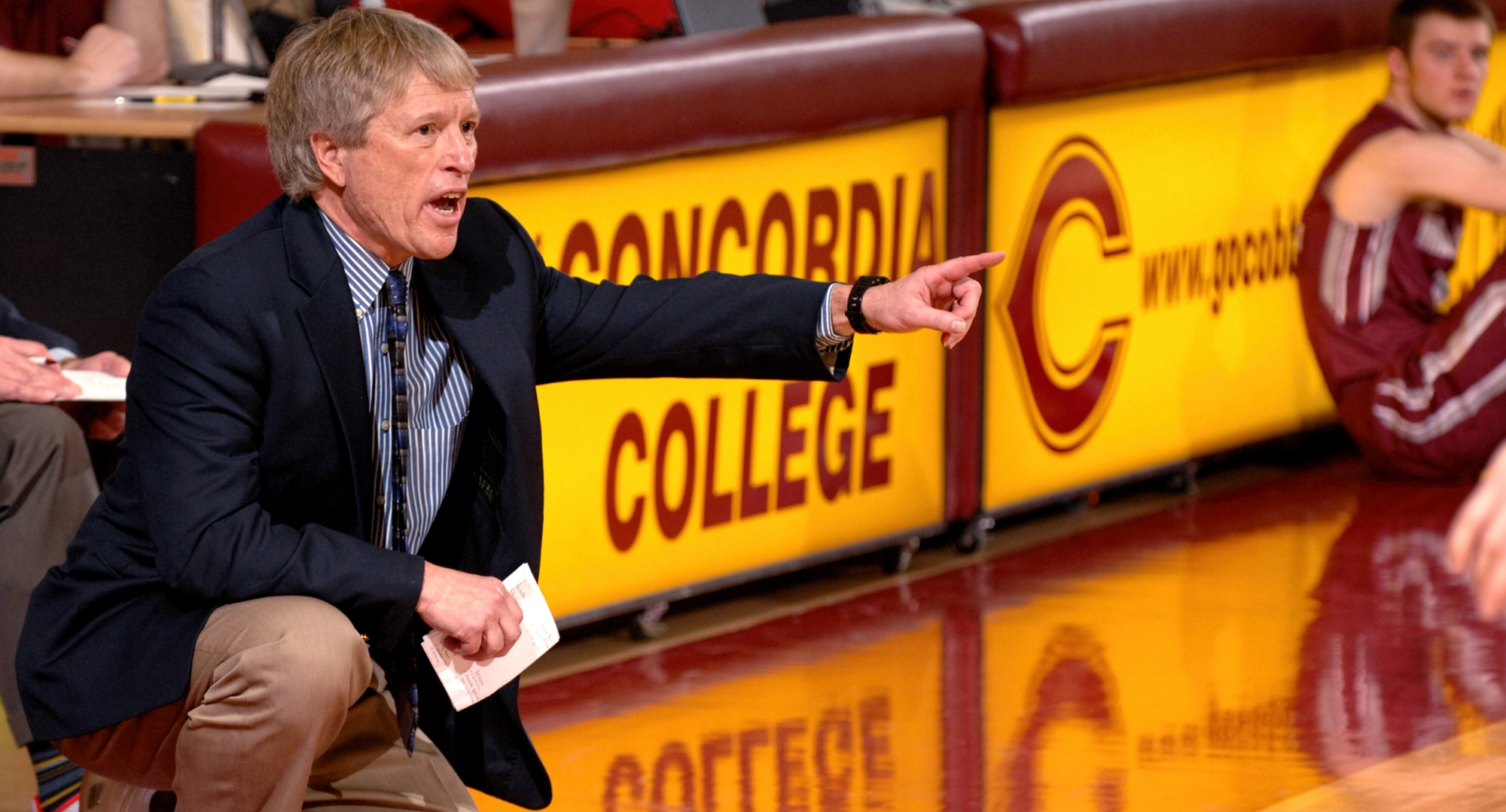 Cobber head coach Rich Glas has now coached in 1,000 college games in 47 years of coaching.