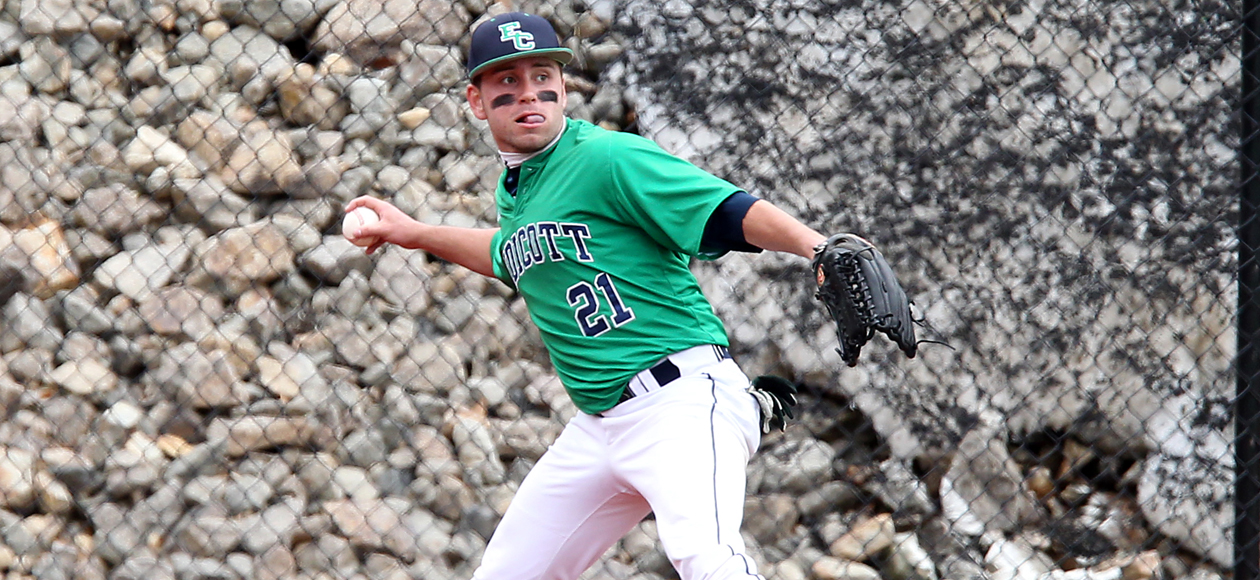 Baseball Splits Final CCC Doubleheader with Nichols; Endicott to be Playoff Top Seed