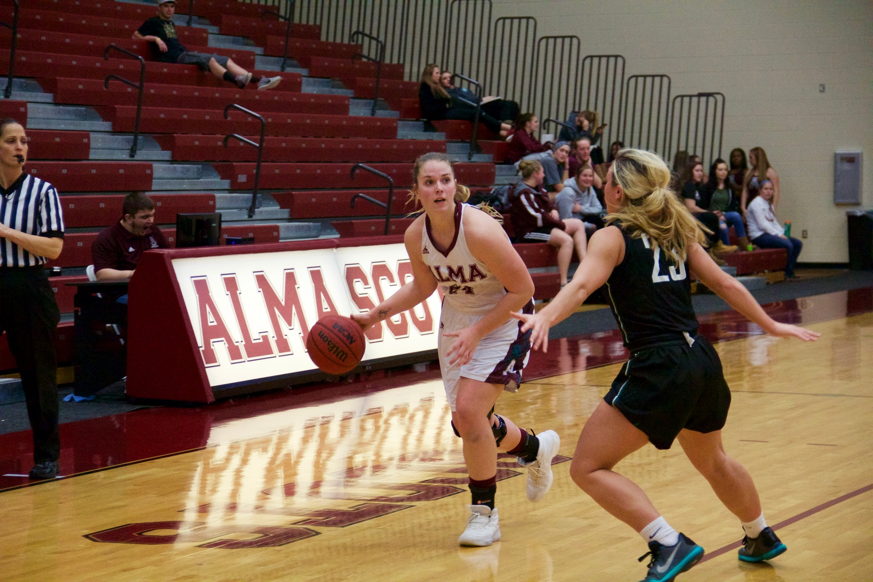 Alma Rolls Over MacMurray