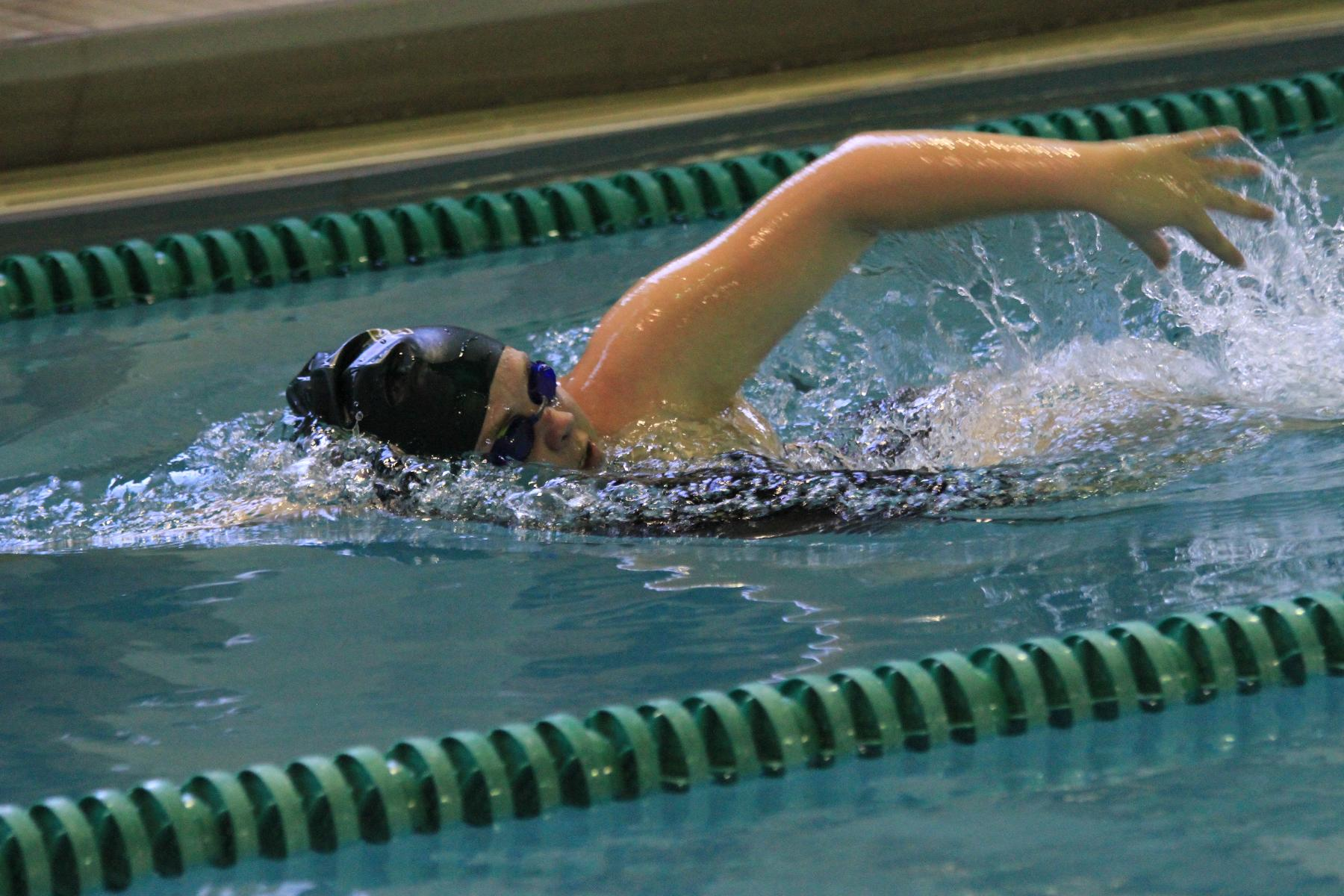 Swimming Sets Personal Records In Season Opener At Simmons