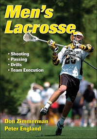 Don Zimmerman's Book, Men's Lacrosse, Released by Human Kinetics