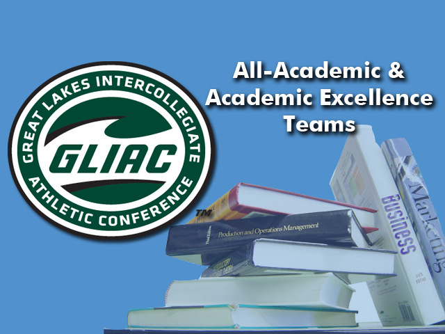 Track and Field Teams Place 13 on GLIAC indoor All-Academic Teams