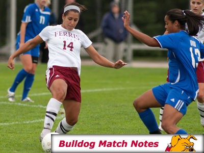 Ferris State Women's Soccer Notes - Matches 4-5
