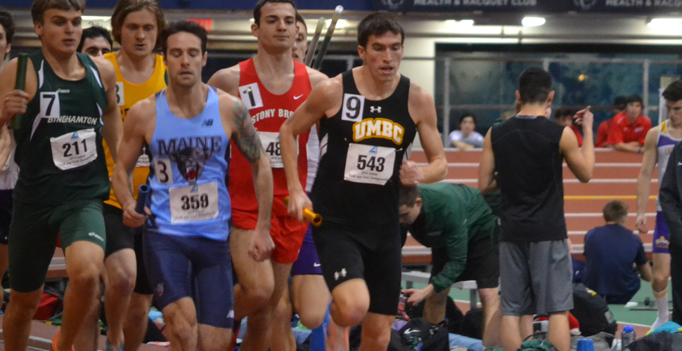Smith's School Record Run Paces UMBC Men on Second Day of IC4A Championships