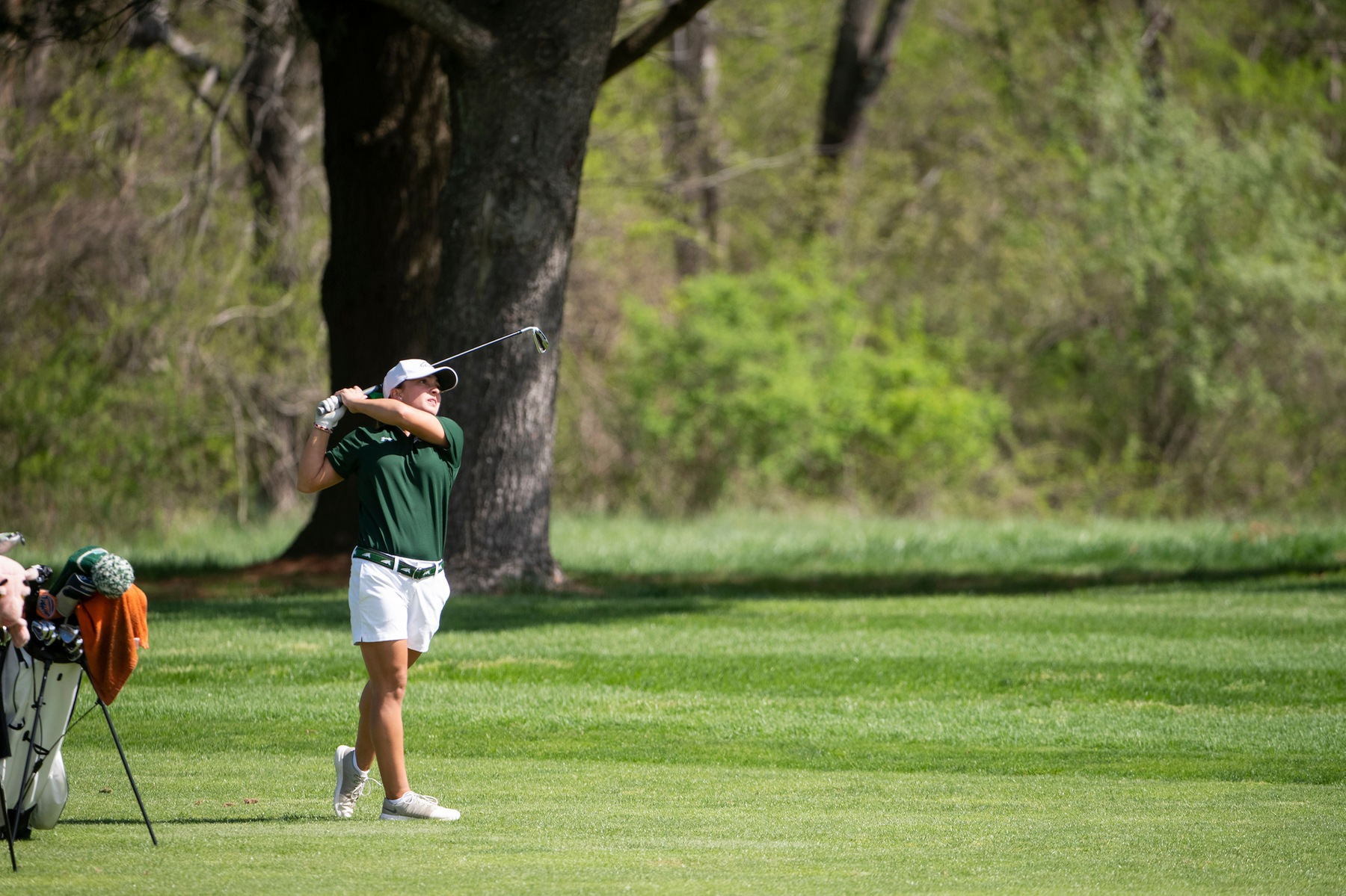 VanDeCar Matches Personal Best In Second Round of NCAA Championships, Mustangs 18th