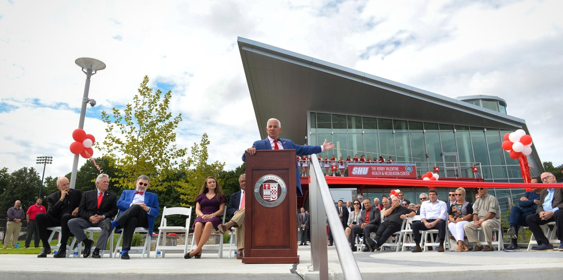 Bobby Valentine Health and Recreation Center Grand Opening
