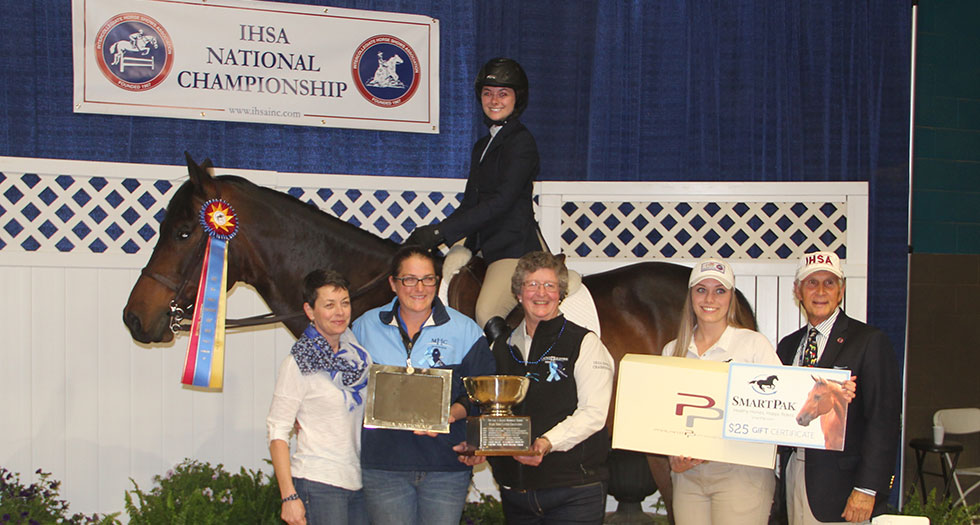 Riding Sits 2nd Following Day 2 at IHSA National Championships