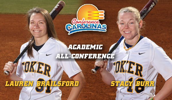 Brailsford, Burr Named Academic All-Conference