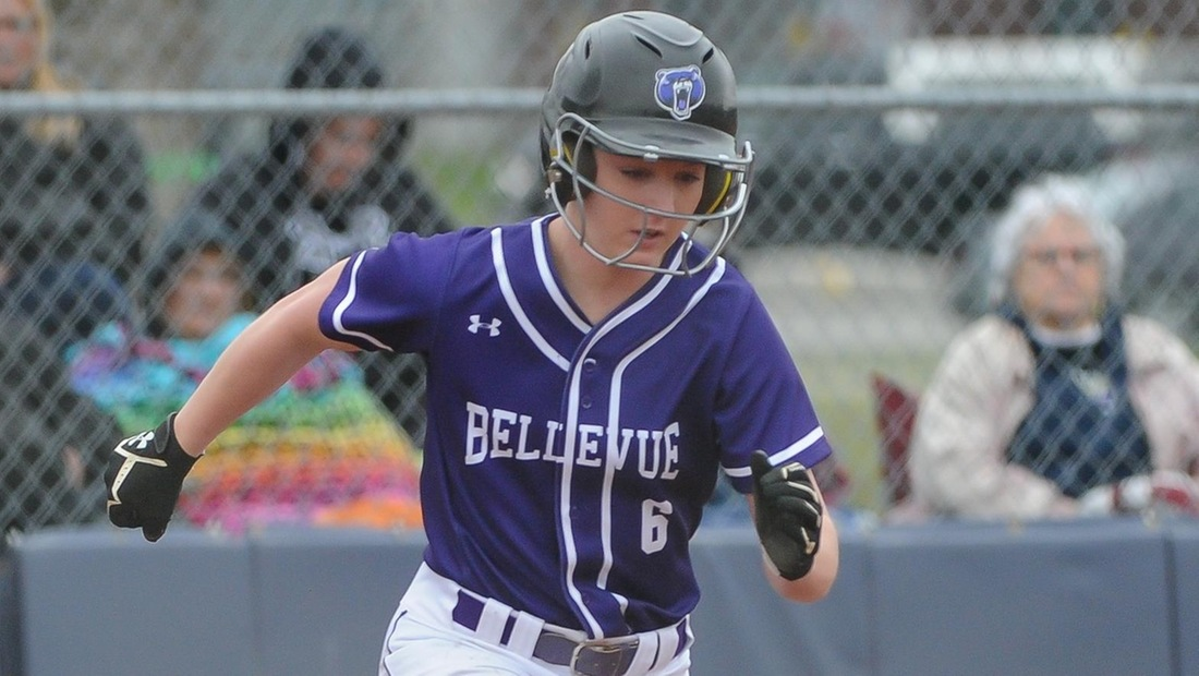 Hannah Carter led the BU offense, going 3-for-4 with a double, a triple, two runs scored and an RBI.