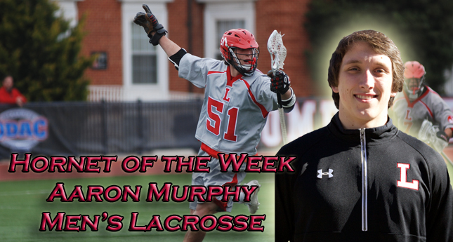 Q and A with Hornet of the Week Aaron Murphy