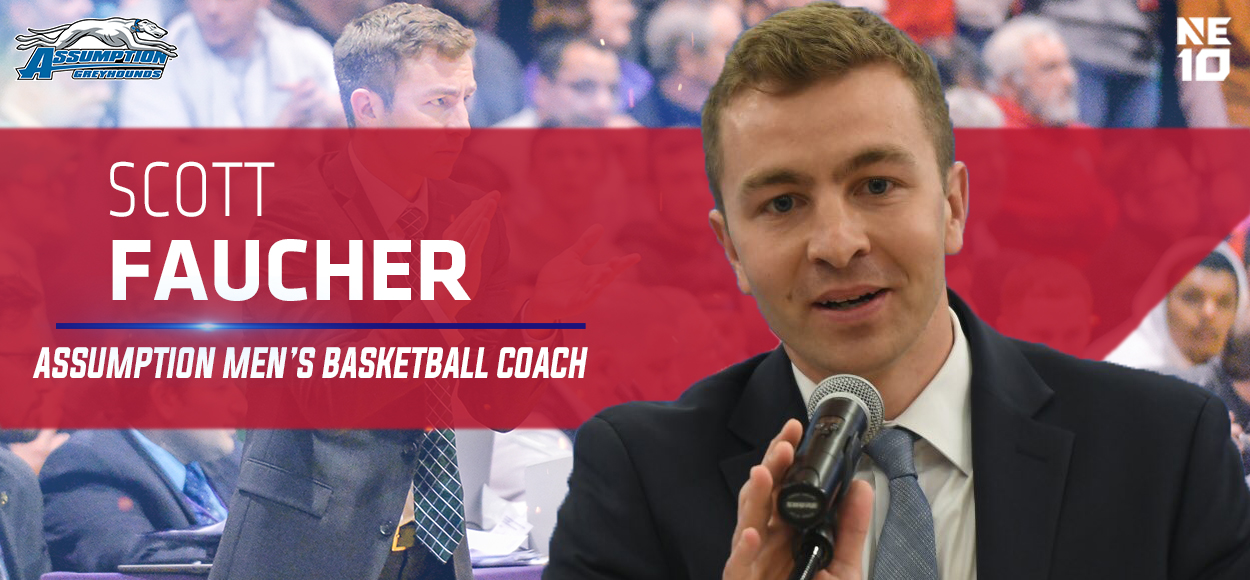 Assumption Welcomes Scott Faucher as Next Men's Basketball Coach