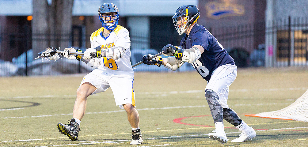 Men's Lacrosse Cruises to Victory Against Eagles