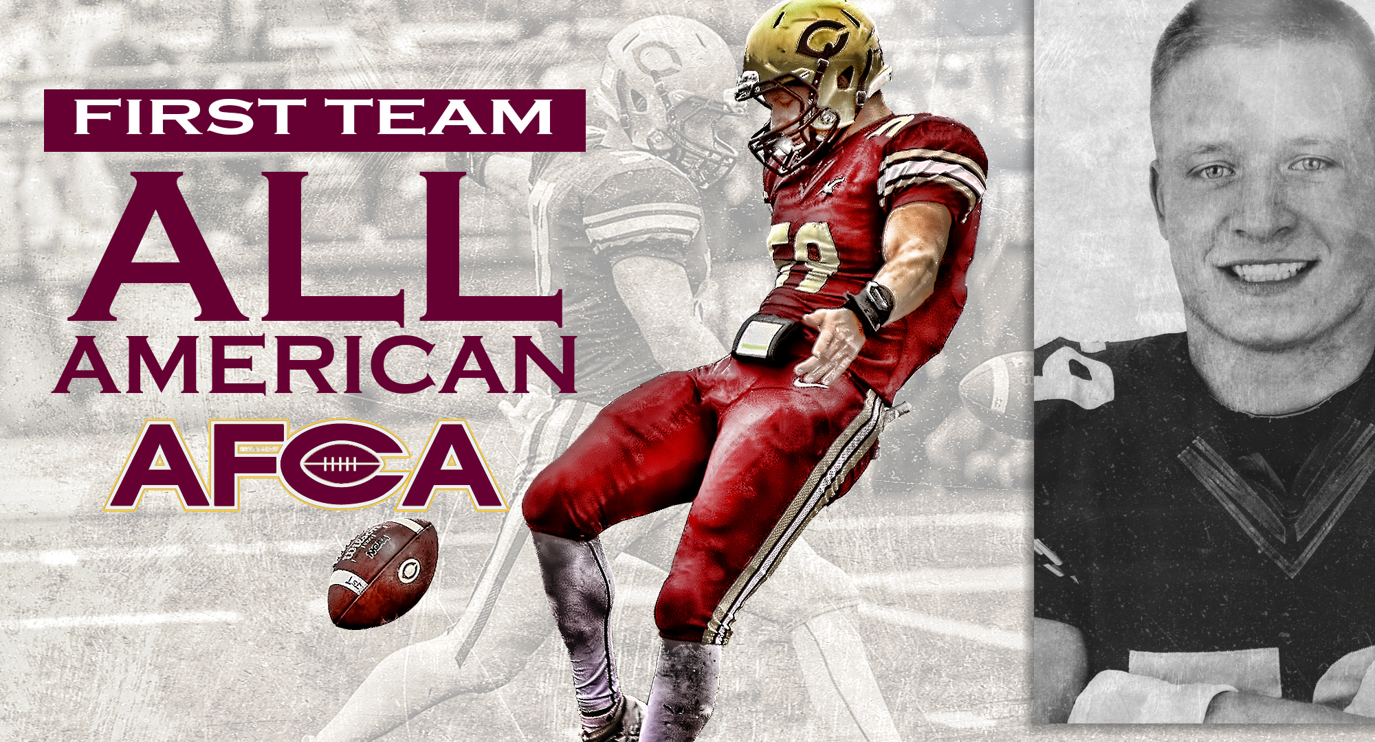 Senior Alex Berg was named to the AFCA All-American First Team. He is the seventh Cobber player in the history of the program to earn the honor.