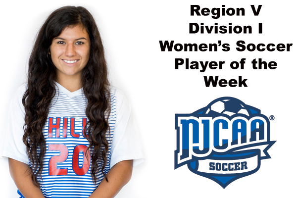 Region V Division I Women's Soccer Player of the Week (Oct. 9)