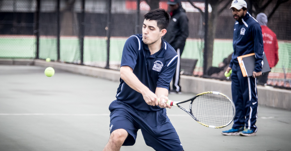 Men's Tennis Tripped Up By Rutgers-Newark