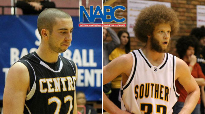 Centre's Ross; Birmingham-Southern's Richards Selected to NABC All-District Team