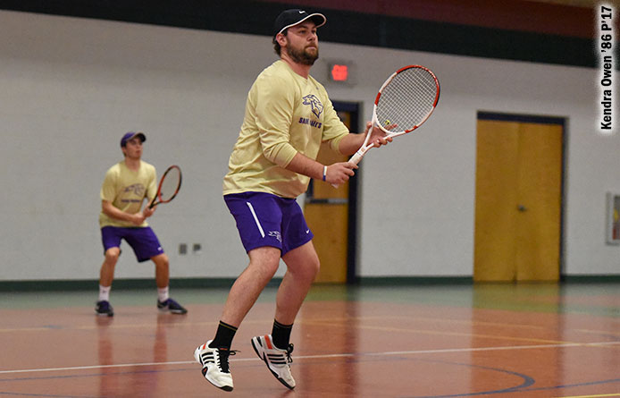 Men's tennis opens weekend road trip at regionally-ranked Southern New Hampshire