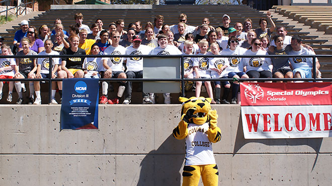 Special Olympians Visit Colorado College For Division III Week