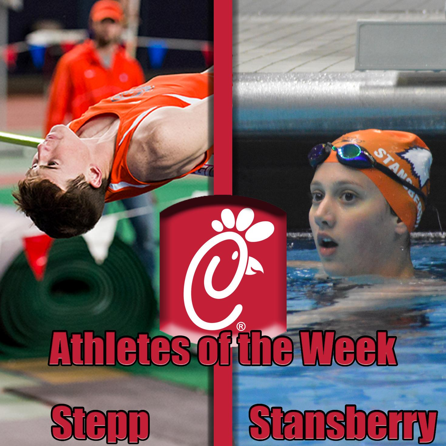 Stepp, Stansberry grab Chick-Fil-A Athlete of the Week honors