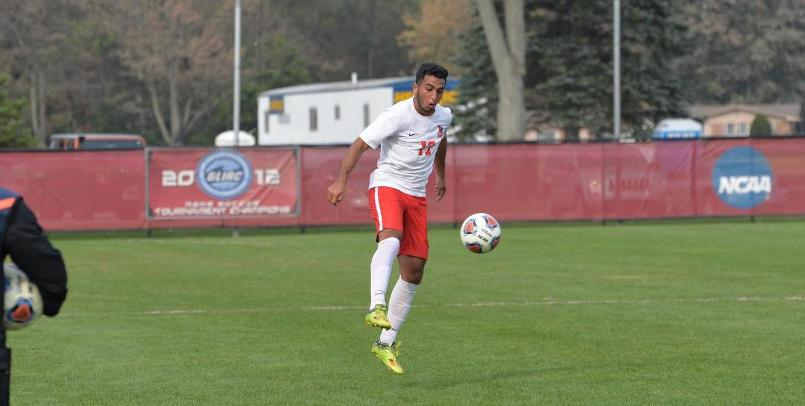 Andrew Dalou had a goal and assist in the team's 2-1 double overtime victory over Walsh on Sunday afternoon...