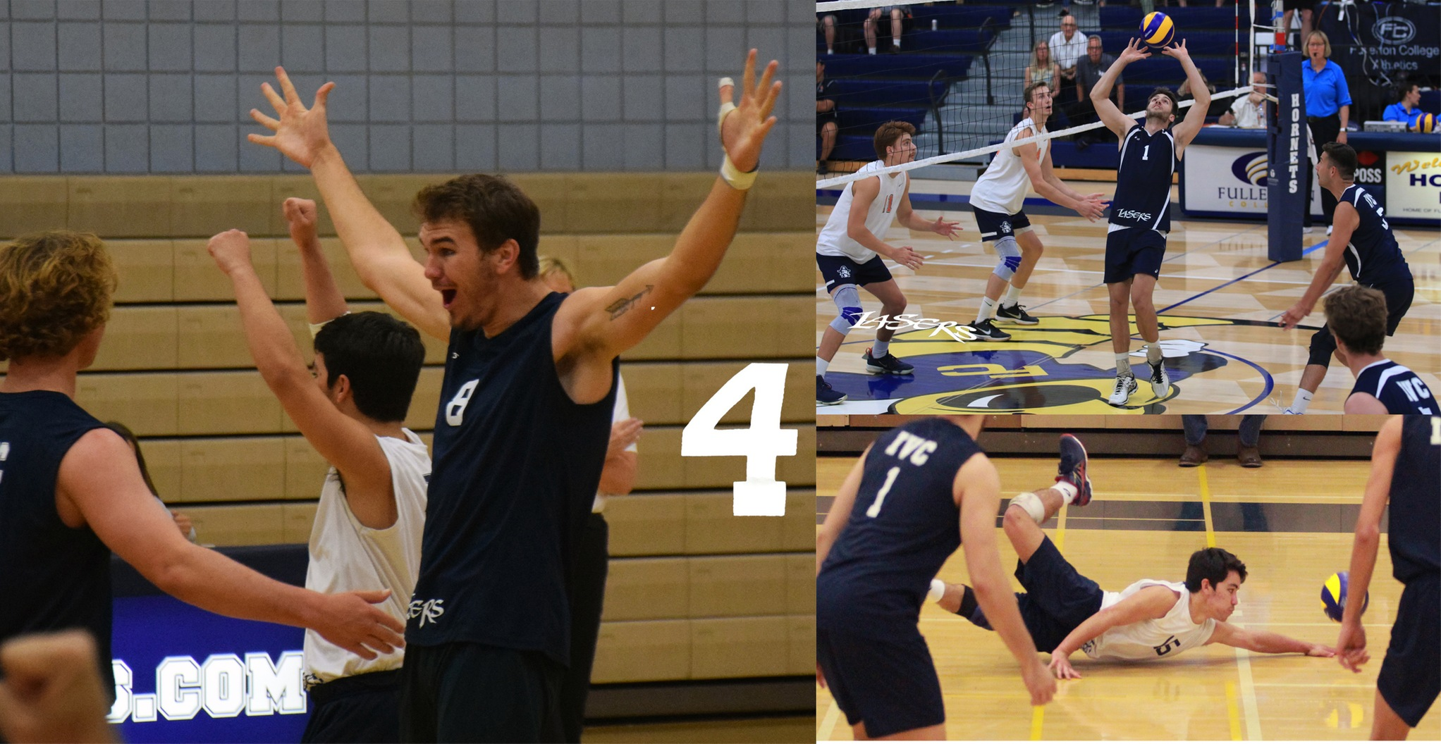 No. 4 Story of the Year - Men's volleyball team gets to state