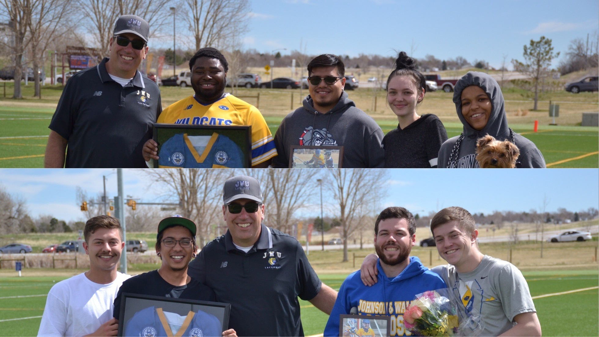 Longley records hat trick on senior day