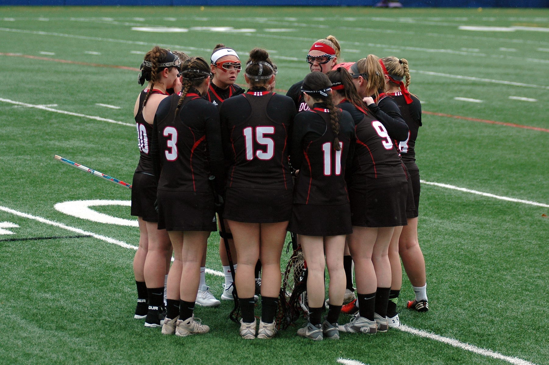WOMEN'S LACROSSE OPEN SEASON WITH A LOSS TO SOUTHERN NEW HAMPSHIRE UNIVERSITY