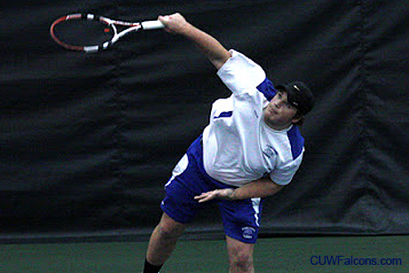 St. Norbert defeats Men's Tennis