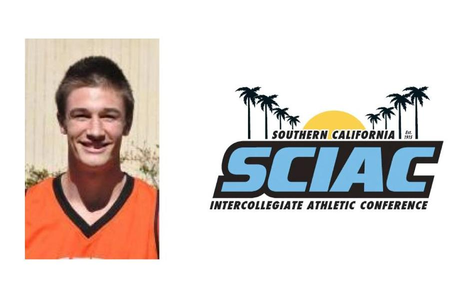 Andrew Hogue Named SCIAC Athlete of the Week