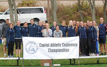 Mary Washington Edges York For 2012 CAC Women's Cross Country Crown