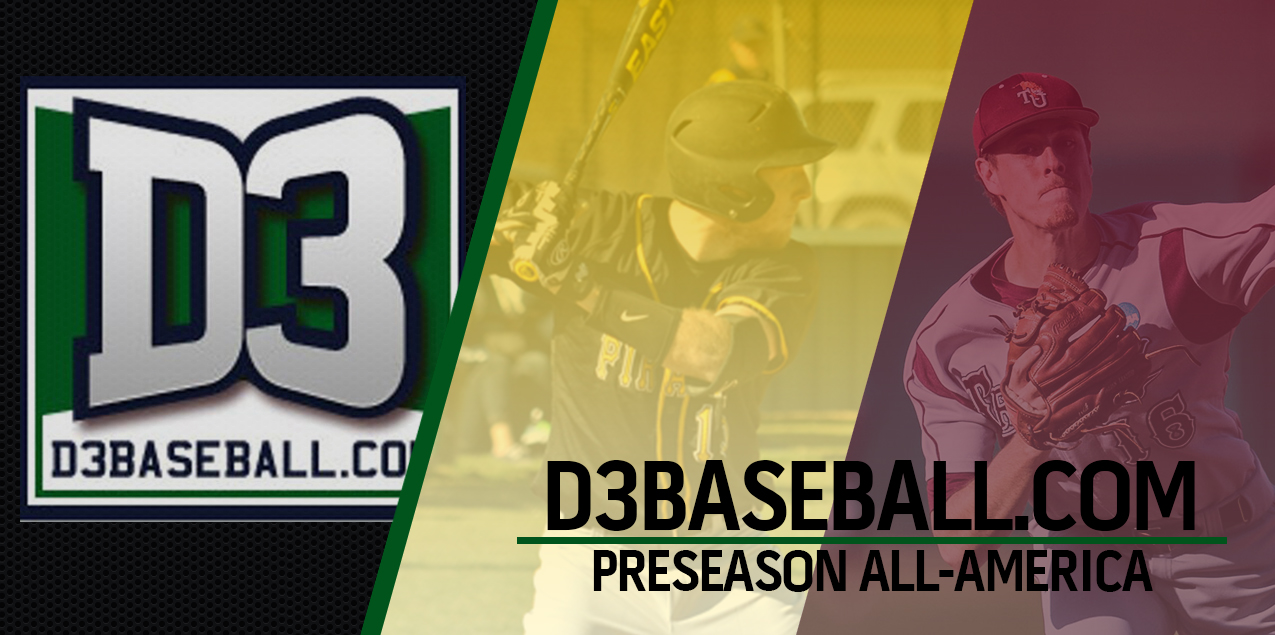 Gray, Cates Named D3baseball.com Preseason All-America