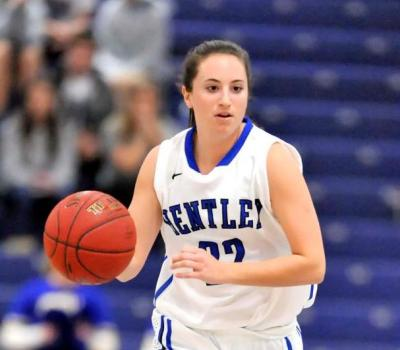 Finn, Battista Combine for 38 as Bentley Makes it 19-0 with 94-52 Win