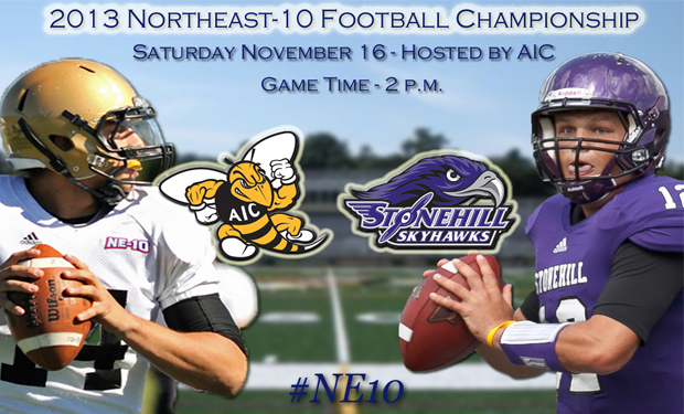 Northeast-10 Football Championship Preview: Stonehill at American International