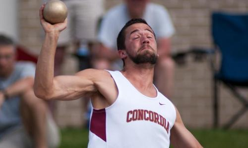 Johnson Leads Cobber Decathletes