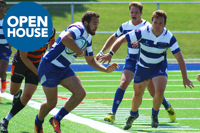 MEN'S RUGBY INFORMATION SESSION AT OPEN HOUSE
