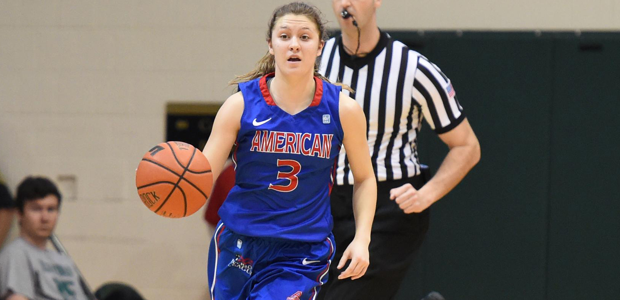 Kaitlyn Lewis, who played at American University for the last four years, has been named an assistant coach for the women's basketball program effective July 15.