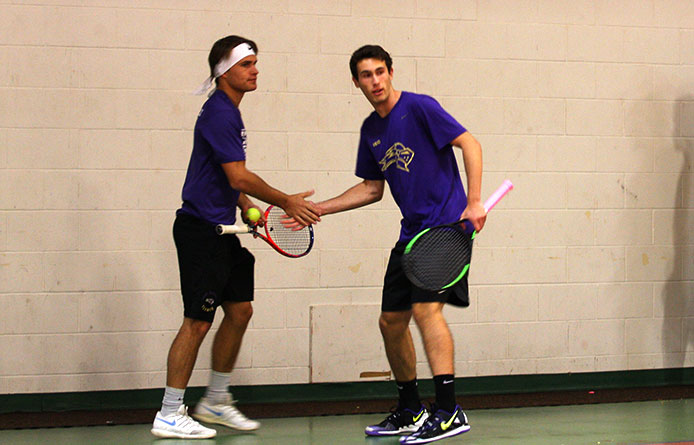 Men's Tennis Blanks Second Consecutive Opponent to Begin Season