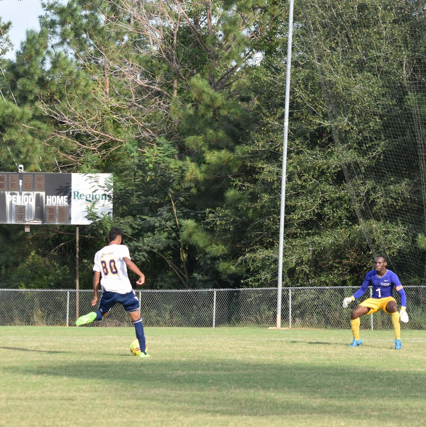 Scoring Barrage Lifts Andrew Over Oglethorpe JV