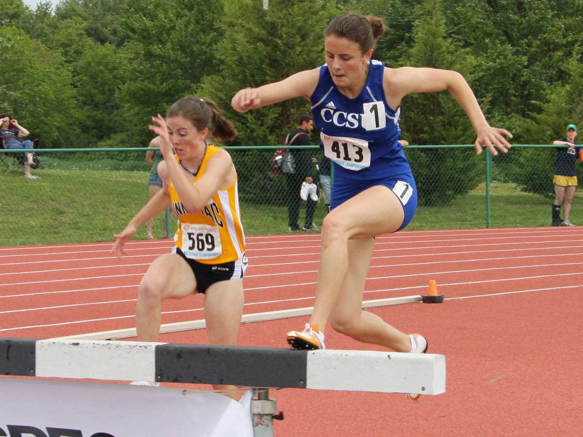 Women's Track in Action at New England Championships