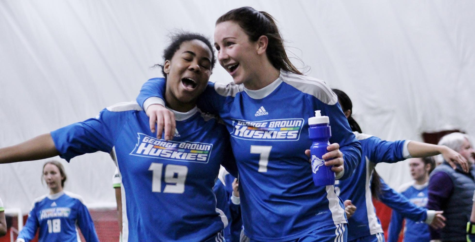 GEORGE BROWN INDOOR SOCCER GOES TWO FOR TWO AT REGIONALS