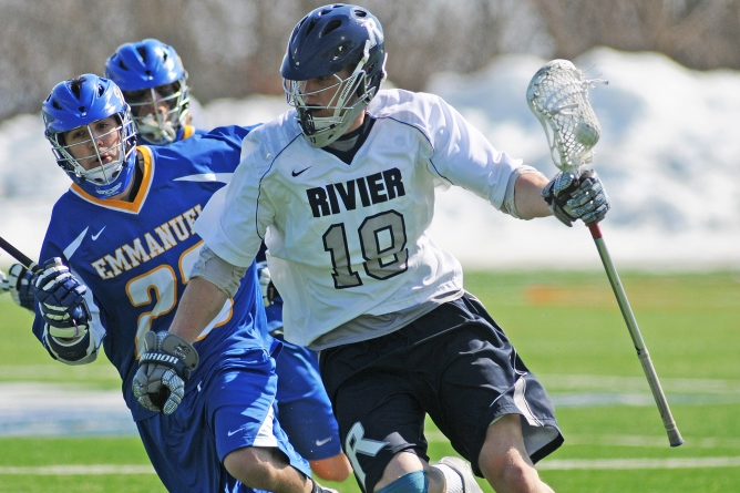 Rivier Falls To Lasell 12 -7