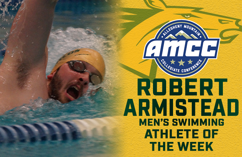 Armistead's Three Wins Earn Freshman AMCC Swimmer of the Week