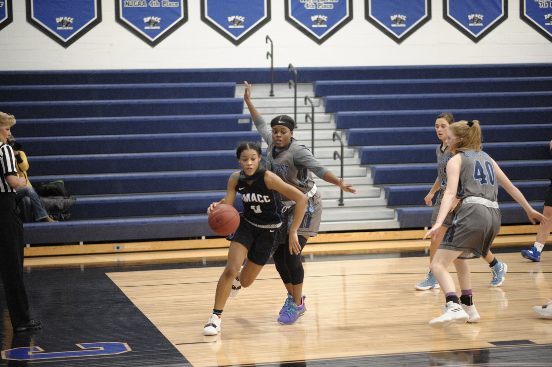 DMACC women's basketball team falls to KCKCC, 83-56