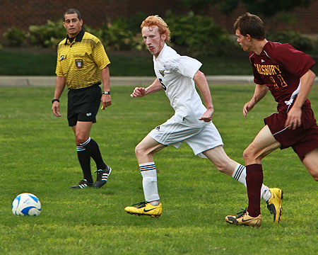 Gallaudet nets two goals but not enough against Washington Adventist