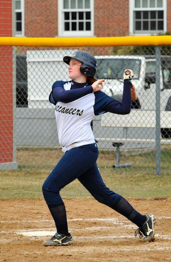 Swanson, Sherman, Driscoll Each Collect Hits As Softball Drops MASCAC Twinbill Decision At Bridgewater State