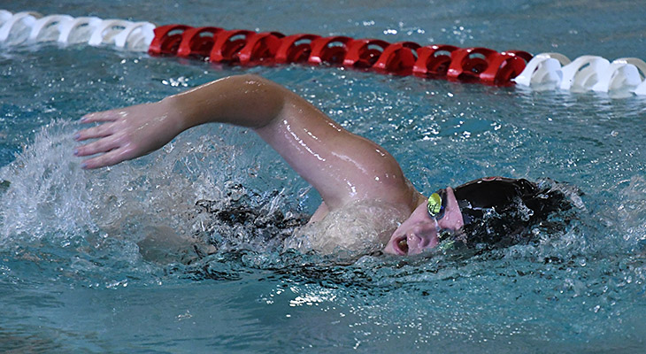 Dual-Meet Opener For Women's Swimming At Oswego