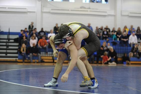 Wrestlers Defeat Case, 41-3, in First Dual Match