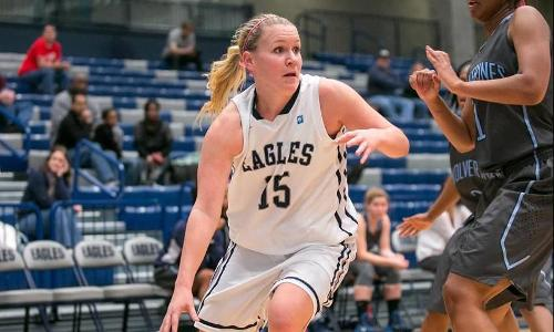 Eagles Fall to Marymount, 51-33, in CAC Quarterfinals