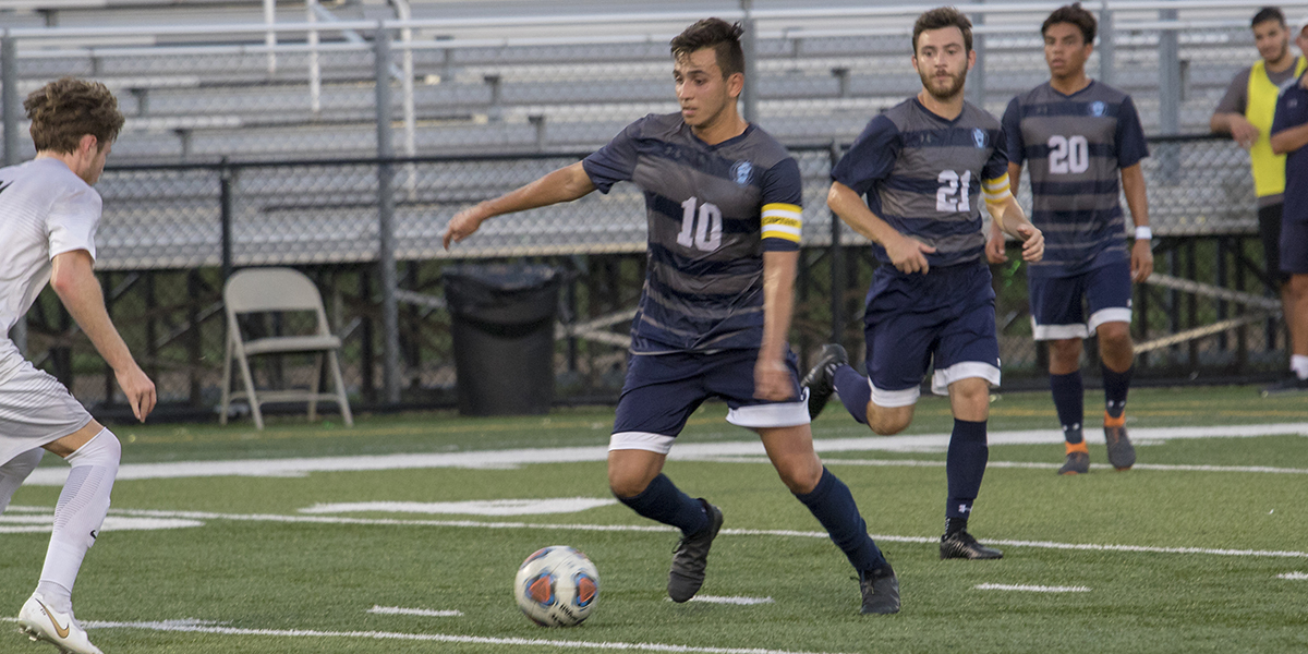 Men's Soccer shutout by Washington for first loss of 2018 campaign